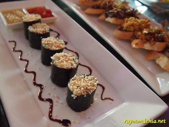 Sushi nori hailam