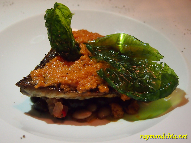 Sicillian Pesto Bass