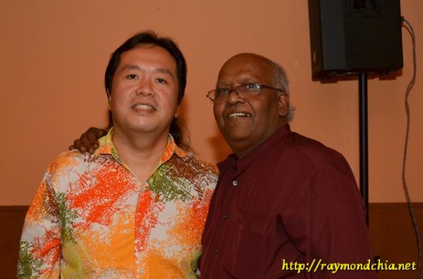 Ray and Bala at Online 2 SS4