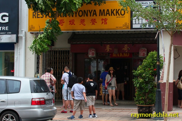 Restoran Nyonya Makko at Melaka