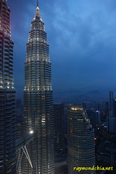 KL skyline from Marini's on 57