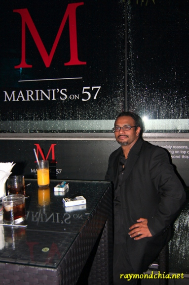 Arul D at Marini's on 57