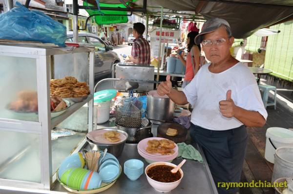 Lor Bak stall at Seng Thor Coffee Shop
