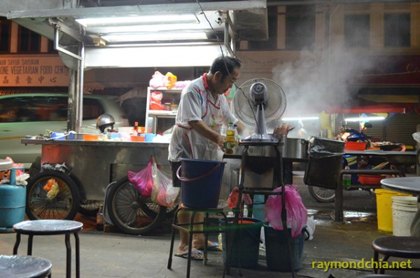 Char Kway Teow at Ayer Itam Market