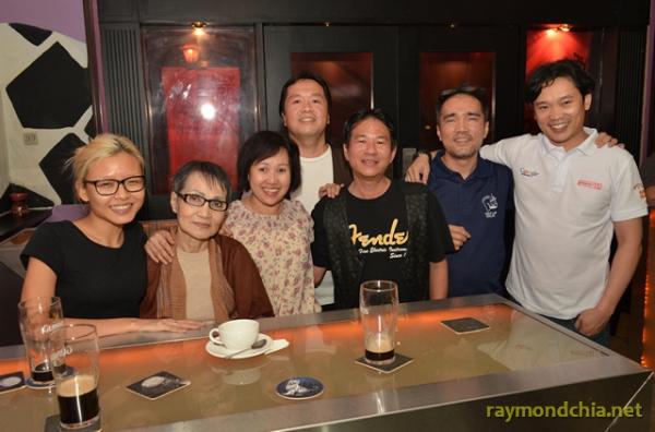 Raymond Chia & Marcus Lum at Sanook Bistro & Sportz Bar