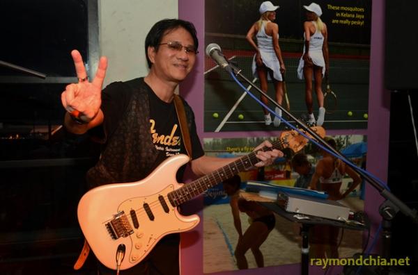 Marcus Lum at Sanook Bistro & Sportz Bar