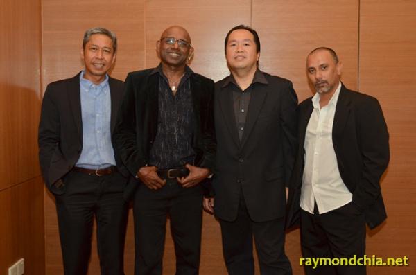 Raymond Chia, Vijay David, Azmi and Badar