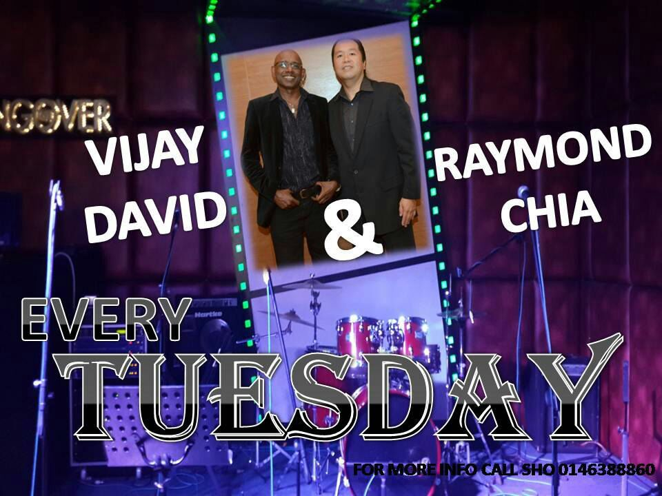 Vijay David and Raymond Chia at The Hangover Bar & Bistro PJ (Every Tuesday in March 2014)