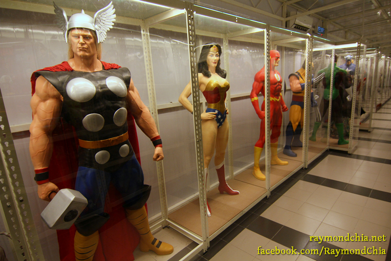 Live Size Figures at Penang Toy Museum
