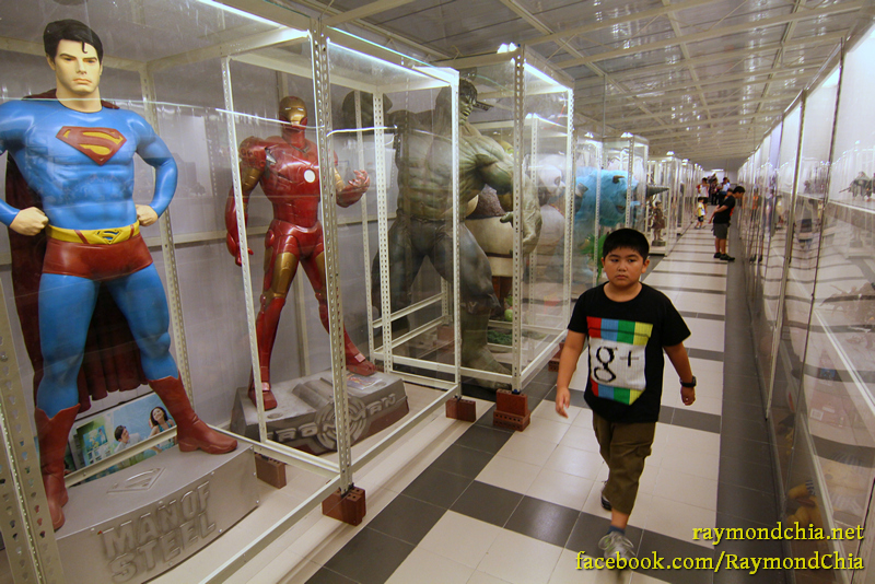 Penang Toy Museum - Life Size Super Heroes