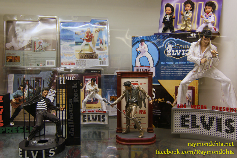 Elvis Presley figurines!