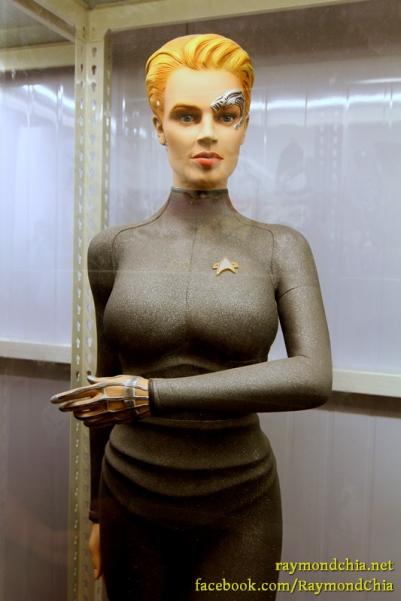 'Seven of Nine' from Star Trek Voyager