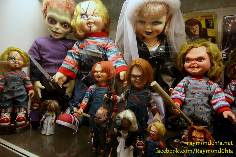Collection of Chucky Dolls!