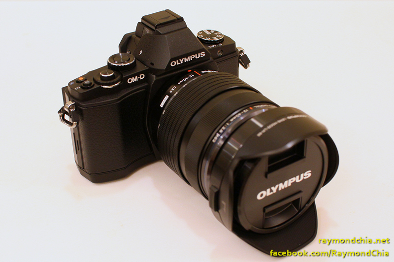 The Olympus OM-D E-M5 with the 12-40mm f2.8 Pro lens